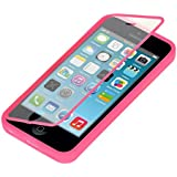 kwmobile TPU Silikon Hülle für Apple iPhone 5C - Full Body Protector Cover Komplett Schutzhülle Case in Pink