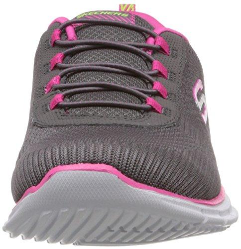Skechers GliderGame Maker Damen Sneakers Grau (Gyhp)