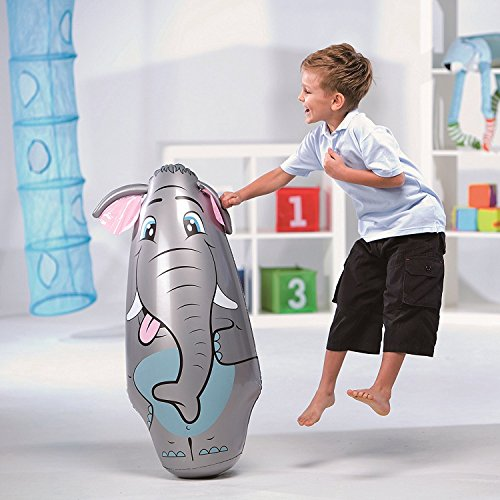 New Arrival- Bestway Lil Animal Bop Bag - Elephant, Ages 3+