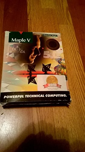 Maple V: Release 5: Student Version par Waterloo Maple Incorporated