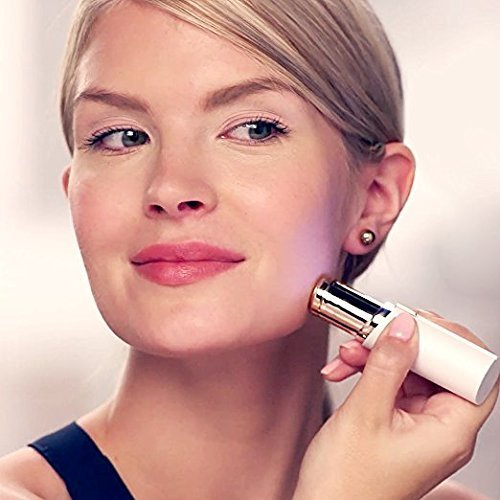 Glamouria Painless Flawless Facial Hair Remover Shaver For Women
