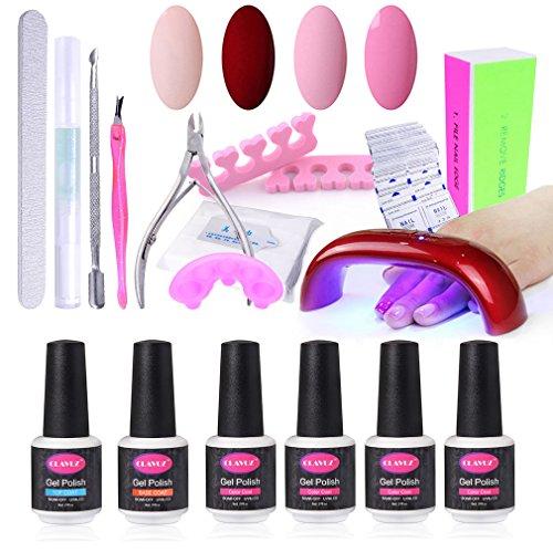 clavuz-nail-art-starter-set-4-teilig-soak-off-gel-nagellack-set-mit-9-w-uv-led-nageltrockner-30s-60s