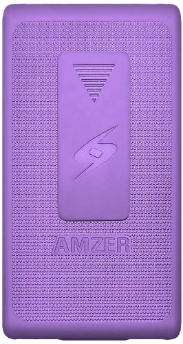 Amzer Shellster Hülle / Case / Holster für Sony Xperia Z L36i, Violett