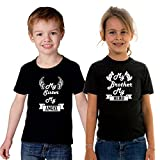 #5: ADYK Cotton Brother Sister T-Shirts Hero-Angel