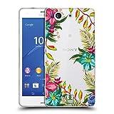 Head Case Designs Tropical Puissance De Fleur Étui Coque en Gel molle pour Sony Xperia Z3 Compact / D5803