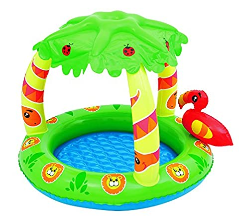 Bestway Planschbecken Friendly Jungle UPF 50+, 99x91x71