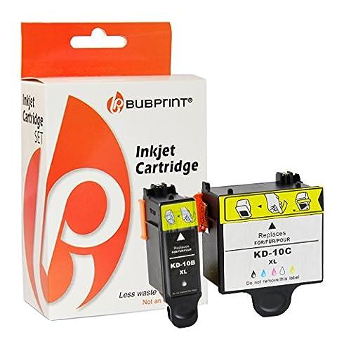 Bubprint 2 Druckerpatronen kompatibel für KODAK 10 color + black Hero Office 6.1