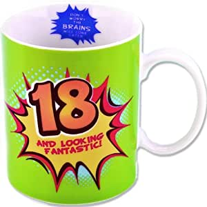Boxer Gifts Tasse 18 ans