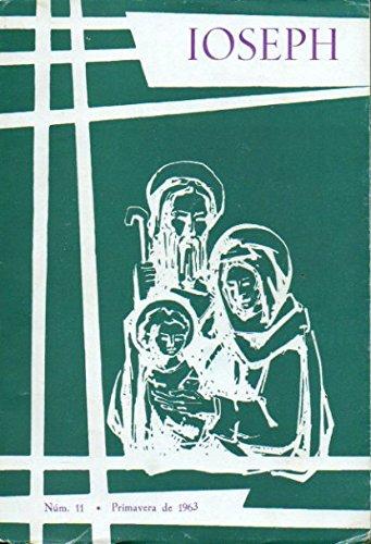 IOSEPH. Nº 11. Principios de la Misiología agustiniana; Diálogo sobre la Poesía Religiosa: Concha Lagos, Mario Ángel Marrodán, José Mª Fernández Nieto; Poemas de Carlos de la Rica