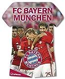 Produkt-Bild: FC Bayern Trikotkalender 2018 - Bayern Kalender, Fankalender Fußball, Fußball Kalender, FC Bayern München Kalender - 34 x 42 cm