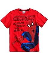 Spiderman T-Shirt Kurzarm 3 Varianten und 5 Größen schwarz, rot, weiß