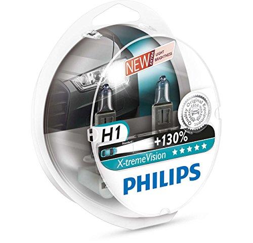 Preisvergleich Produktbild Philips X-tremeVision +100% H1 Scheinwerferlampe 12258XVS2, 2er-Set (Begrenzte Zeit + 130%)