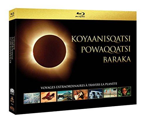 Koyaanisqatsi + Powaqqatsi + Baraka - Voyages extraordinaires à travers la planète