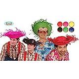GUIRMA - Sombrero espantapájaros paja colores