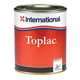 International Boat High Gloss Durable Yacht Paint Toplac 750 ml (Platinum)