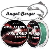 Angel-Berger Pro Braid x-treme geflochtene Schnur (135m dark green, 0,16mm)