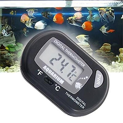 Thermometer Indoor - Pet Digital Lcd Screen Sensor Fish Tank Aquarium Water Thermometer Controller Smart Temperature - Temperature Instruments Temperature Instruments Alarm Carp Thermomete (Fish Tank Screen)