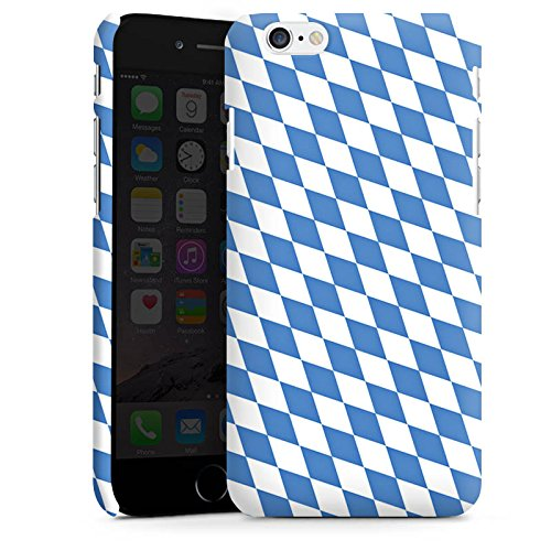 Apple iPhone 5 Silikon Hülle Case Schutzhülle Bayrische Flagge Bayern Fahne Premium Case matt