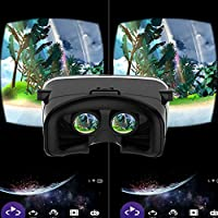 Nuova versione VR occhiali 3D VR occhiali virtual reality Headset per film 3D video games for mobile phone 3.5 – 15,2 cm schermo dello smartphone