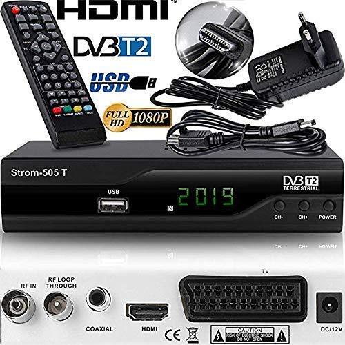 Strom 505 Decodificador HD TDT -  / HDMI et Scart / H.264 / H.265 HEVC / DVBT - T2 / MPEG2 / MPEG4