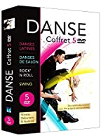 Special Danse : Danses latines + Danses de salon débutant et avancé + Rock'n'Roll + Swing (Coffret 5DVD)