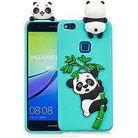Everainy Huawei P10 Lite Silikon Hülle Ultra Slim 3D Panda Muster Ultradünn Hüllen Handyhülle Gummi Case Huawei... preisvergleich bei billige-tabletten.eu
