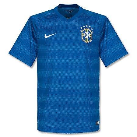 Nike Herren Fußballtrikot blau S