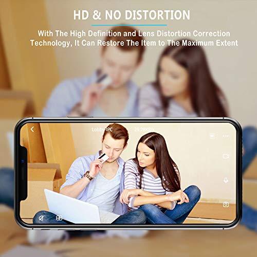 Telecamera di Sorveglianza IP camera wifi Rottay 720P HD wireless,Obiettivi Ruotabile, Audio Bidirezionale, Modalit¨¤ Notturna a Infrarossi, Controllo Remoto, Compatibile con iOS e Android e PC - 5