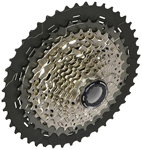 shimano-11v11-46-deocre-xt-cassette-black-silver-talla-unica