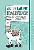 Gute Laune - Kalender 2020: Taschenkalender mit Lesebändchen und Gummiband -