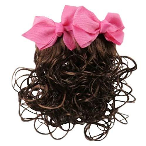 ücke Haarnadelperücke ist für Kinder geeignet um zur Schule zu spielen ()