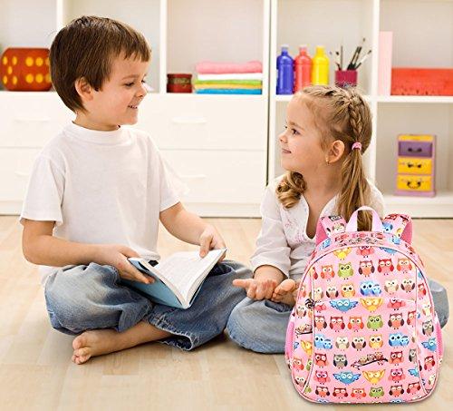 *Coofit Sac a dos enfant en Nylon Cartable maternelle fille garcon sac a dos mignon fille Cartable enfant 3-6 ans (Rose) Acheter en ligne