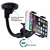 Dealsure Soft Tube Mobile Holder | Car Mobile Stand | Mobile Holder For Cars Dashboard Multi-Angle Adjustment With 360 Degree Rotating Clip | Car Holder For Mobile Phone | Car Accessories Interior Decoration | Mobile Holder For Bed And Table | Holder For