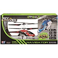Auldey Navigator – yw858194 – Helicóptero RC – Infrarrojos 3 Canales – Báscula Gyro