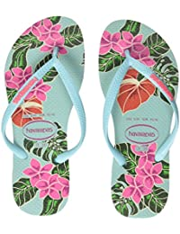 Havaianas Slim Floral, Chanclas Para Mujer