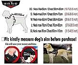 Unho Hund Harness Body gepolstert extra big Große Medium klein schwere variieren von alle Arten von Größe (L)