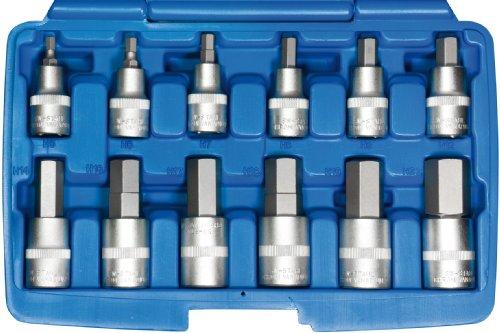 SW-Stahl 07630L Set de cl/és /à pipe industrielles en chrome vanadium