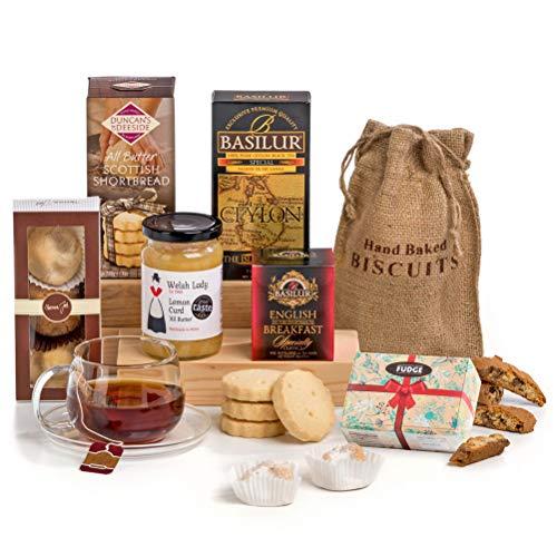 Hay hampers, il tè delle 5 - cesta regalo con dolci e marmellata tradizionale inglese