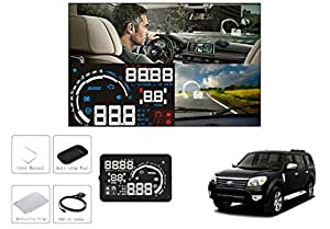 Speedwav S5 Plug-&-Play OBD-II 5.5 Inch Car Heads Up LED Display-Ford Endeavour Type 2 (2007-2015)