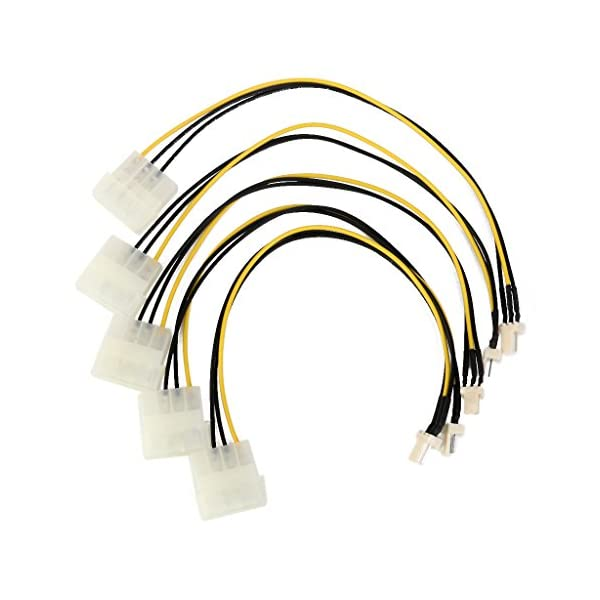 DeLOCK 83343 4-pin Alemania Cable Macho//Macho, Molex , Multicolor