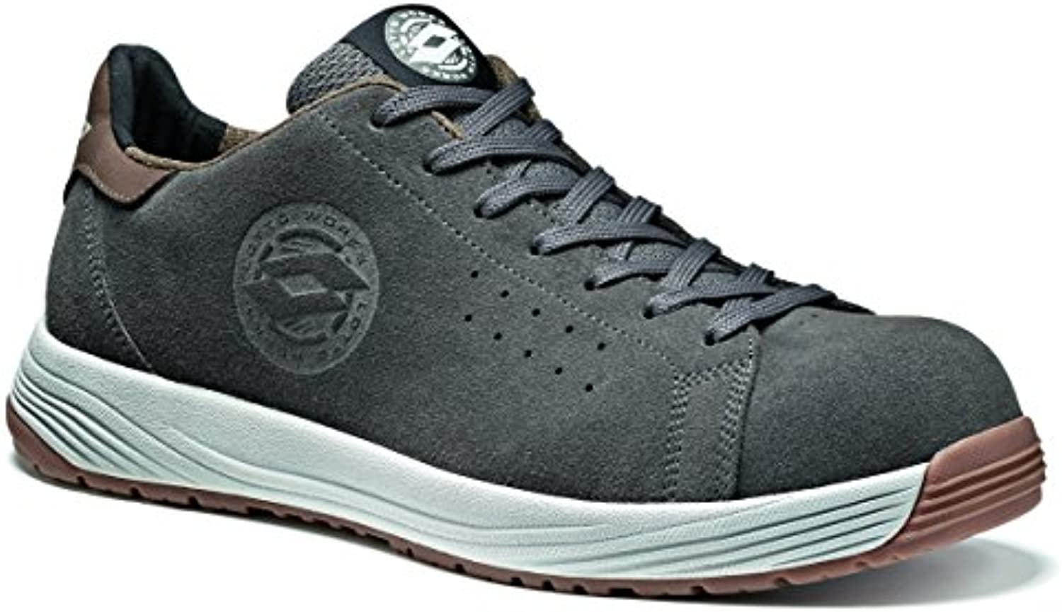 Lotto Scarpe Antinfortunistiche Works Skate S1P Scamosciate Grigio Asfalt | | | Shop