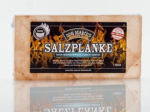 DON MARCO'S Salzplanke, 1er Pack (1 x 900 - Himalaya-salz-block