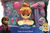 Best Disney Hair Dryers - Disney Frozen Anna Styling Head 21 Piece Set Review