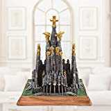 LIZONGFQ Sagrada Familia española Catedral Modelo Creativo Resina Artesanía Edificio Decoración del Hogar Joyería Souvenir Turístico Regalos