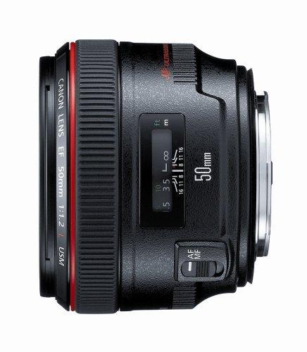 F1.2 Digital Video (Canon EF 50mm f/1,2L USM Objektiv für Canon Digital SLR Kameras Portable Consumer Electronics Home Gadget)