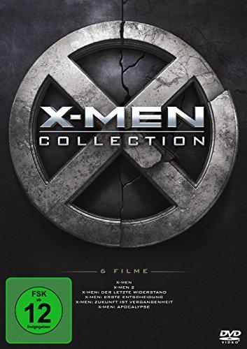 X-MEN 1-6 BOXSET Region Code 2 [6 DVDs]