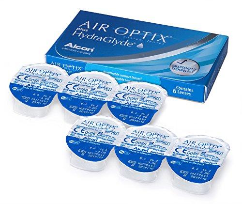 Air Optix HydraGlyde Monatslinsen weich, 6 Stück / BC 8.6mm / DIA 14.2 / -5 Dioptrien - 4