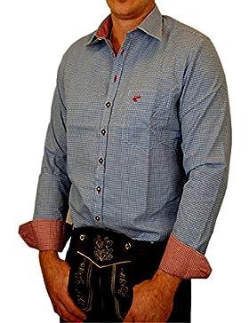 OS Trachtenhemd Tom je nach Größe Slim Fit bis größere Größen Regulär Fit bis 6XL