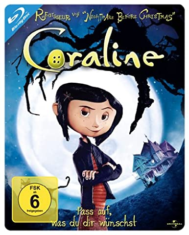 Coraline - Steelbook [Blu-ray]