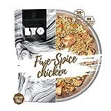 LYOFOOD Five Spice Chicken 370g | Gefriergetrocknetes Laktosefreies Essen 2 Go Camping Wandern Verpflegung Nahrung Fleisch Hähnchen Notfall Lebensmittel für Unterwegs Bundeswehr Haltbar